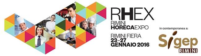 Aera Software Ristorante al RHEX 2016 di Rimini dal 23 al 27 Gennaio