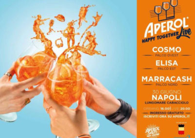 Aperol – Happy together Live –