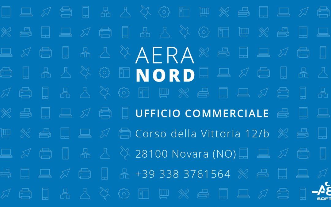 Nuovo ufficio commerciale Aera Nord Italia