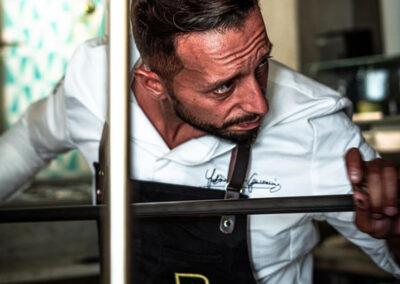 Fabio Di Giovanni della pizzeria Don Antonio di Salerno
